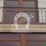 Арт №050 Металлический балкон