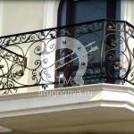Арт №047 Кованый балкон Солнечногорск