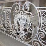Арт №043 Кованый эксклюзивный  балкон
