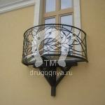 Арт №035 Французский кованый балкон