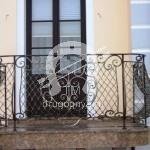 Арт №033 Кованый балкон Коломна