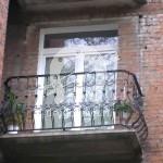Арт №030 Кованый балкон в хрущевке