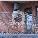 Арт №029 Кованый балкон
