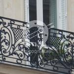 Арт №068 Дизайн французского балкона