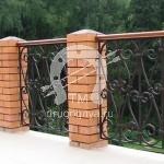 Арт №023 Кованые перила для балкона