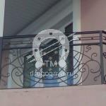 Арт №013 Кованые перила для балкона