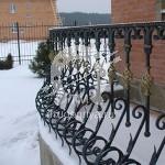 Арт №010 Кованое ограждение балкона