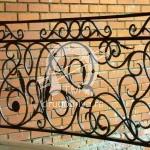 Арт №001 Кованое балконное ограждение