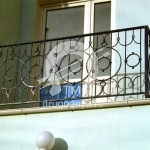 Арт №002 Кованый балкон Клин