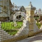 №051 Кованый забор Ивантеевка