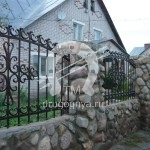 №045 Кованый забор Егорьевск