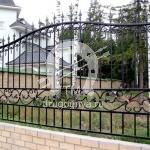 №015 Кованый забор Щелково