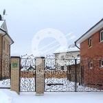 Арт №005 Кованые ворота и калитка