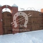 Арт №003 Кованые ворота и калитка