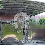 Арт №002 Кованые ворота Балашиха